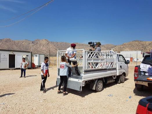 filming in kurdistan